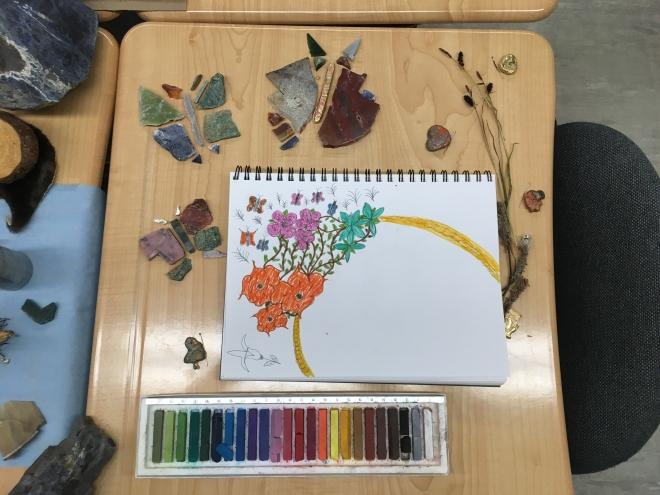 ruthmary flowers desk2